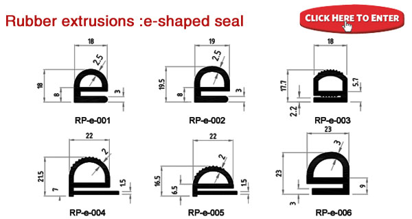 Silicone Seal Silicone Extruded Products Epdm Extruded