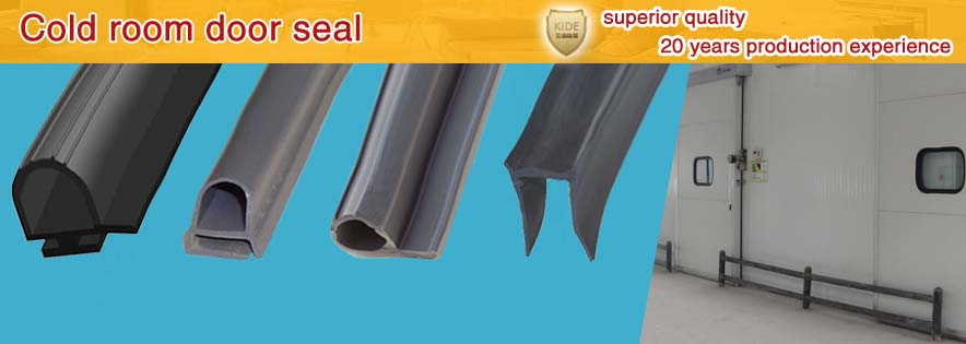 Cold Room Door Seals Rubber Profiles For Cold Rooms